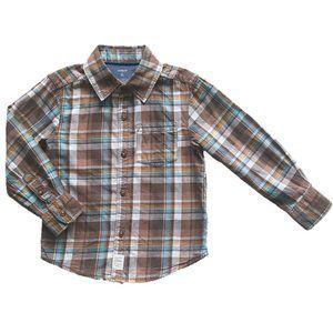 Carter's Plaid Button Up Shirt